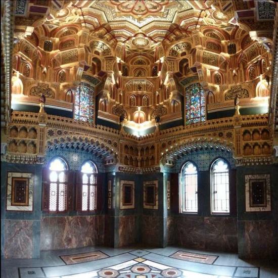 Castillo de Cardiff, Arabic room