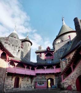 Castillo de Coch. Patio interior