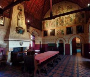 Castillo de Coch. Dinning Room
