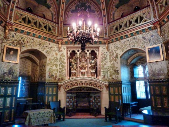 Castillo de Coch. Drawing Room