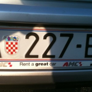 Alquilar un coche en Croacia