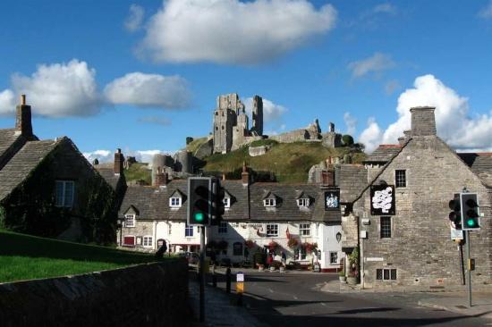 Castillo de Corfe Castle