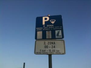 Parking en Dubrovnik