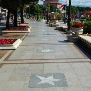 El paseo de la fama en Croacia