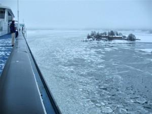 Mar Báltico en febrero