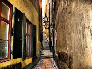 Una calle de Gamla Stan