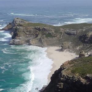 El cabo de la Buena Esperanza desde Cape Point
