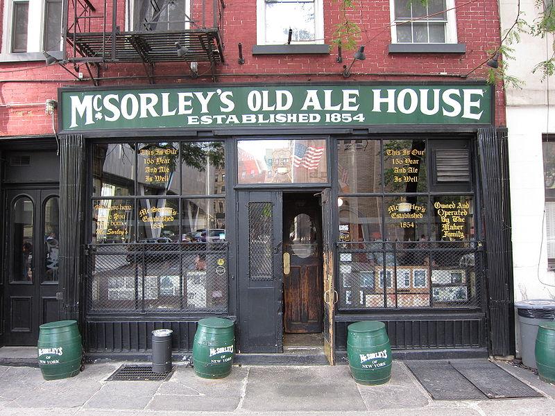 Pub McSorley's Old Ale House en Nueva York
