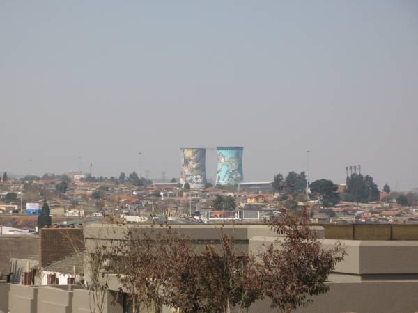 Chimeneas del Soweto