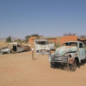 Coches de Solitaire en Namibia