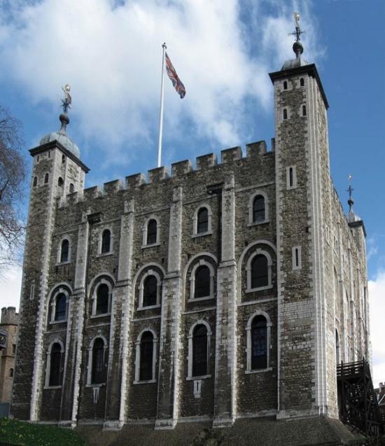 La Torre Blanca, dentro de la Torre de Londres