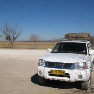 Alquilar un coche en Namibia