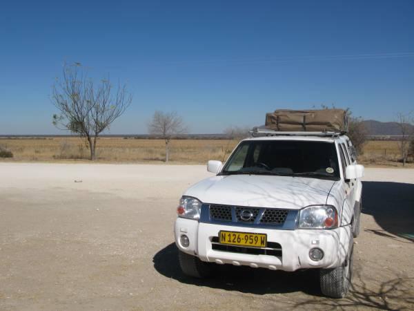 Nuestro jeep de Namibia