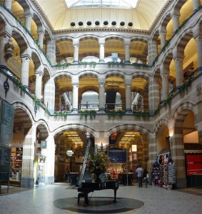 Interior del Magna Plaza