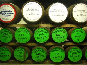 Barricas de whisky irlandés @quique cardona