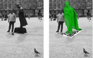 ¿Estatua real o estatua virtual?