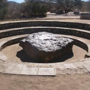 El meteorito de Namibia