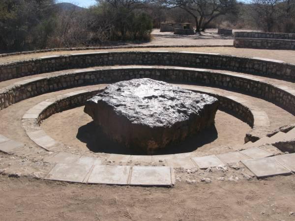 Meteorito de Hoba en Namibia
