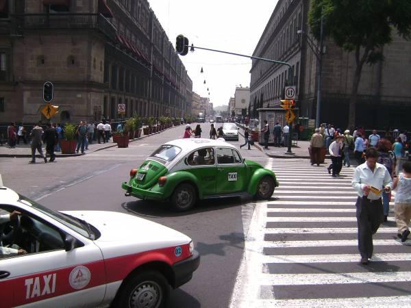 Los taxis de Ciudad de México