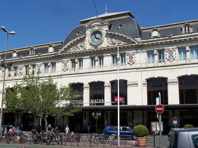 Toulouse estación de tren de Matabiau