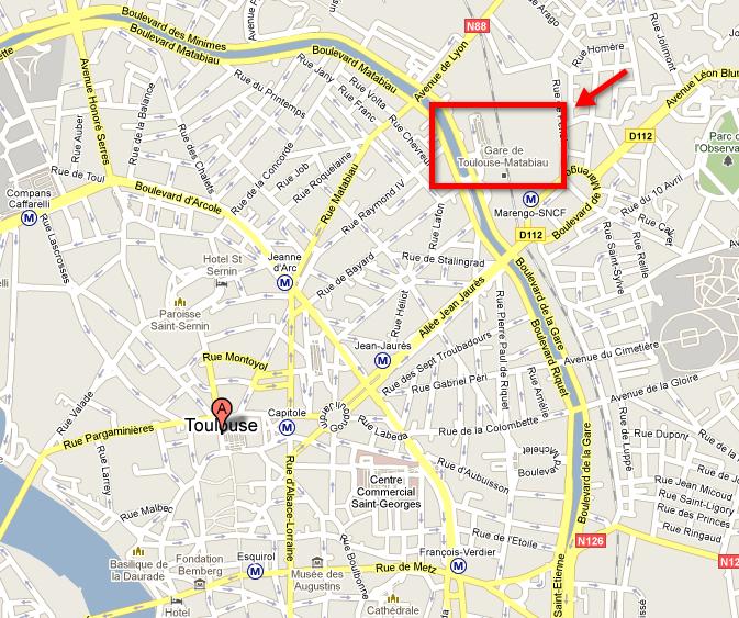Plano de Toulouse