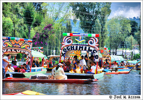 Barcas de Xochimilco
