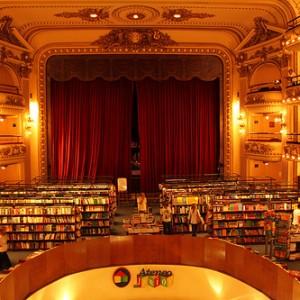 Librería Grand Splendid Ateneo en Buenos Aires