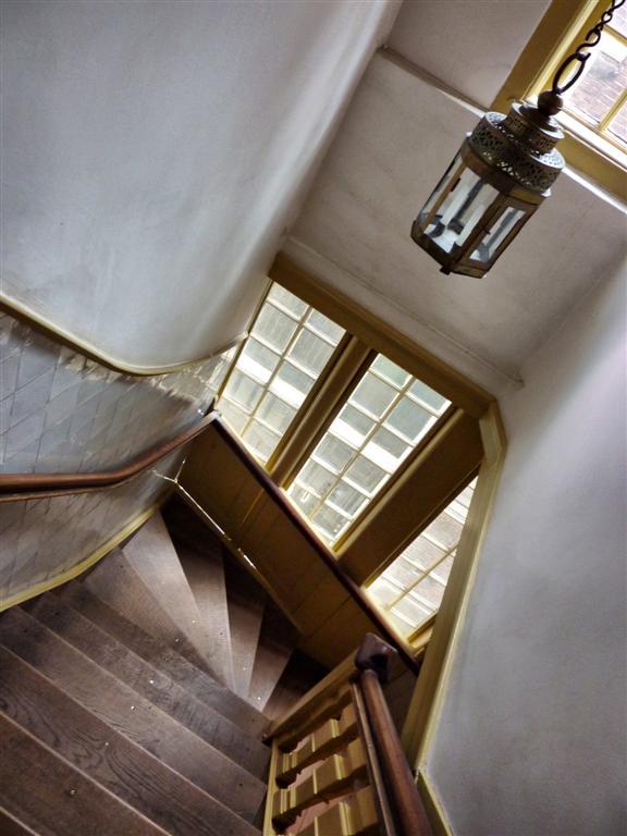 Escalera de acceso a la Iglesia de Nuestra Señora del Ático