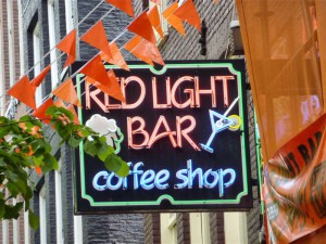 Coffee Shop Red Light Bar