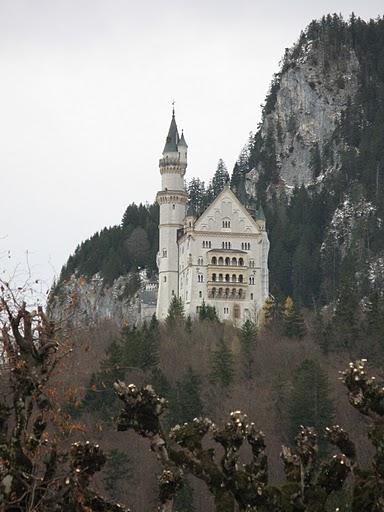 Castillo de Neuschwanstein en diciembre