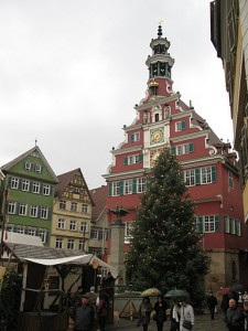 Mercadillo de Navidad medieval de Esslingen am Neckar