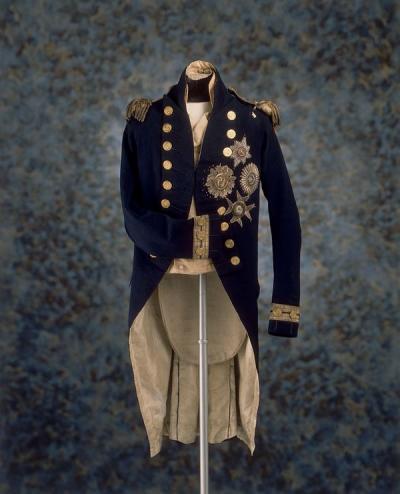 Uniforme de Horatio Nelson en la Batalla de Trafalgar