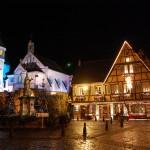 Estampas navideñas en Alsacia