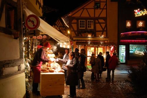 Mercados navideños en Alsacia
