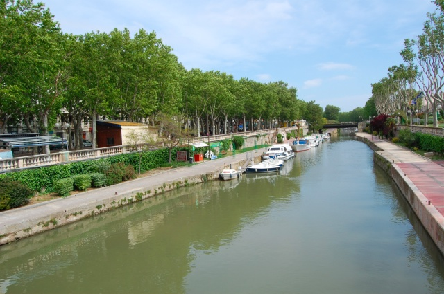 Canal du Midi en Narbona