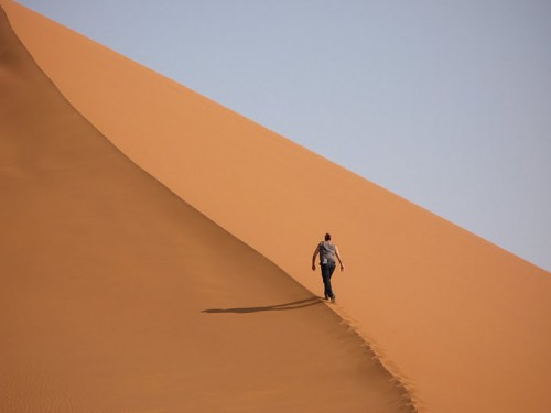 Subiendo la duna 45