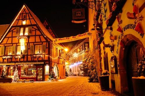 Eguisheim y Alsacia en Navidad