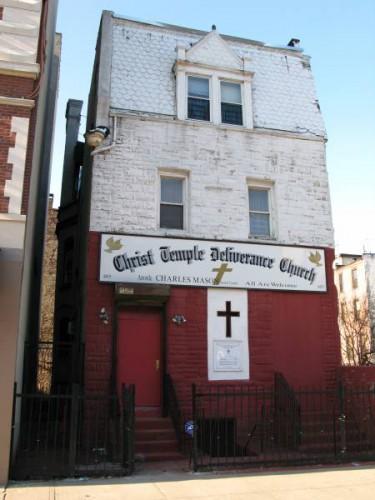 Iglesia de Harlem donde escuchamos gospel