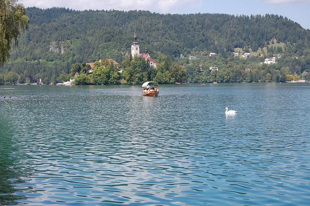 Lago Bled en Eslovenia