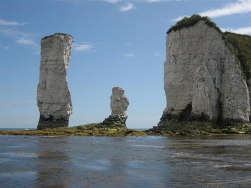 Old Harry Rocks (Fuente: Wikimedia Commons)