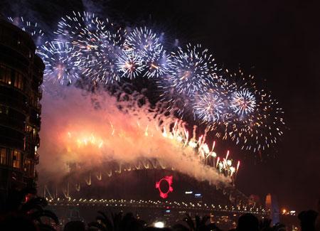 Fuegos Artificiales 2010 en Sydney @3viajes