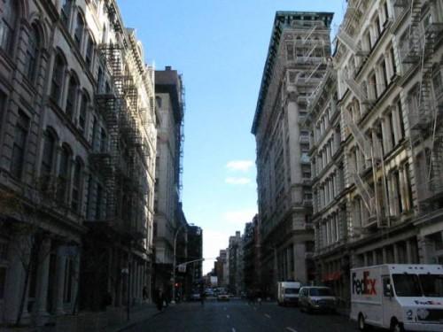 Calle del Soho de Nueva York