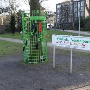 Puesto de objetos perdidos en Vondel Park