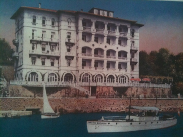 Hotel Kristal de Opatija, principios del siglo XX