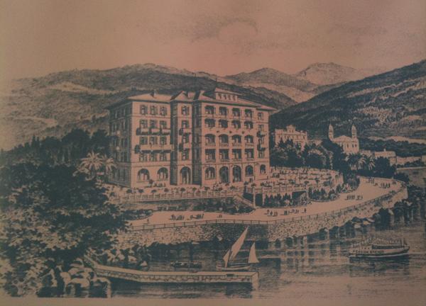 Pension Breiner, luego Hotel Cristallo, inicios siglo XX