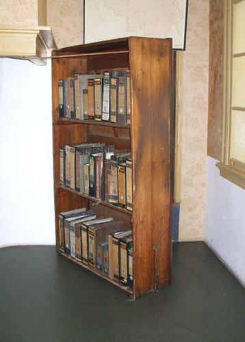 Librería que ocultaba la entrada al escondite de la familia Frank