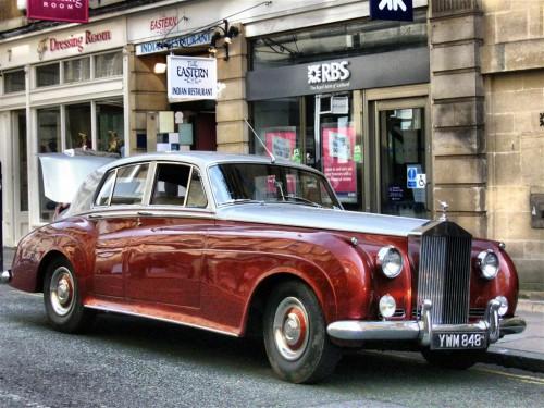Rolls Royce en Bath (Inglaterra)