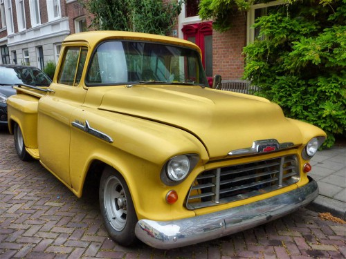 Pick-up de Chevrolet en La Haya (Holanda)