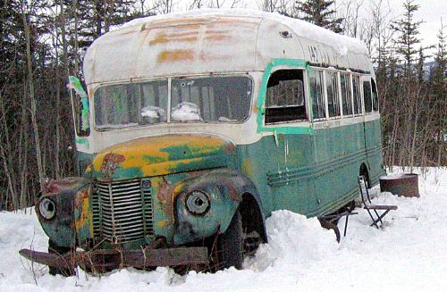 El Magic Bus que dió cobijo a Alexander Supertramp en Alaska