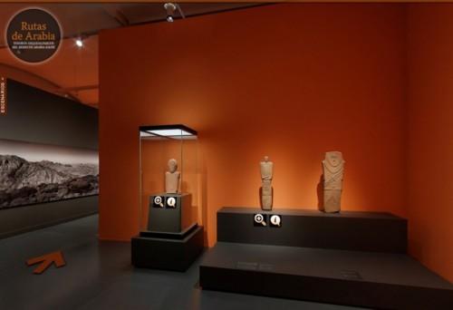 Exposición Rutas de Arabia en el CaixaForum de Barcelona